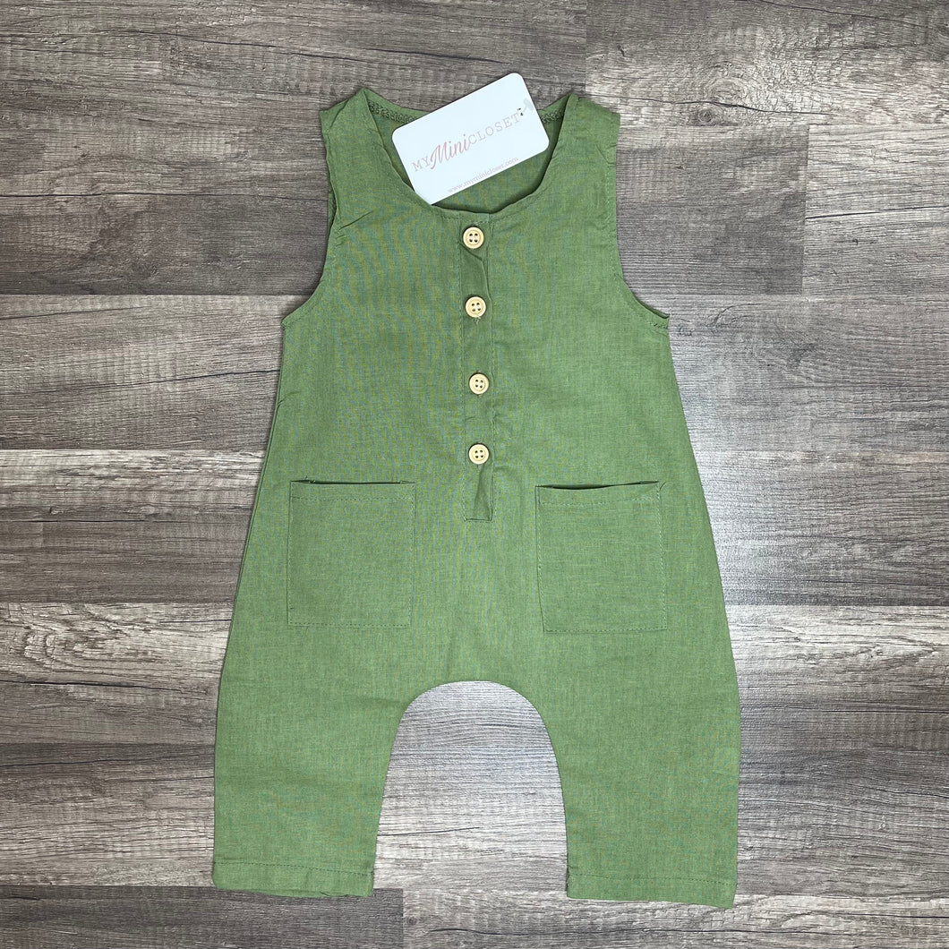 Green Tea Jumpsuit