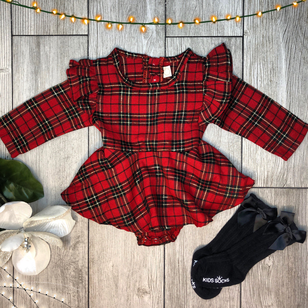 Merry Romper Dress
