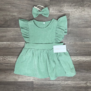Laure Green Dress