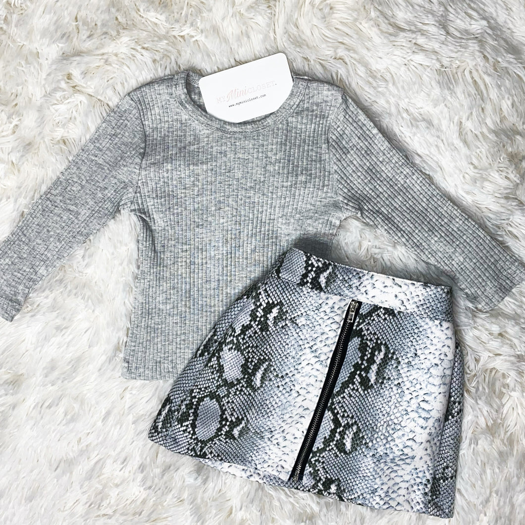 Sully Snake Print Set