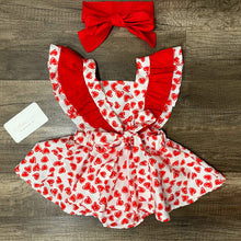 Load image into Gallery viewer, Valentine Romper Dress
