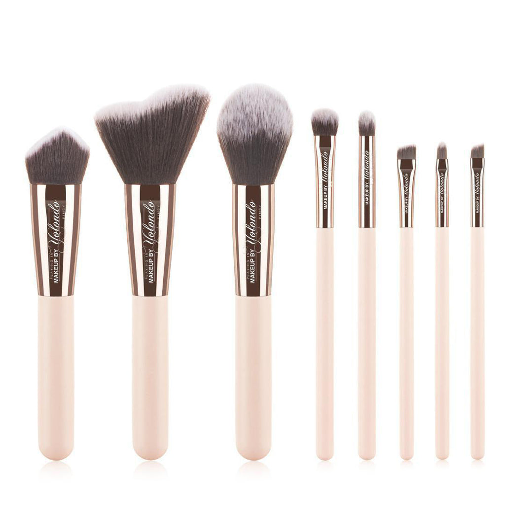 Lovable 8-pc Makeup Brush Set