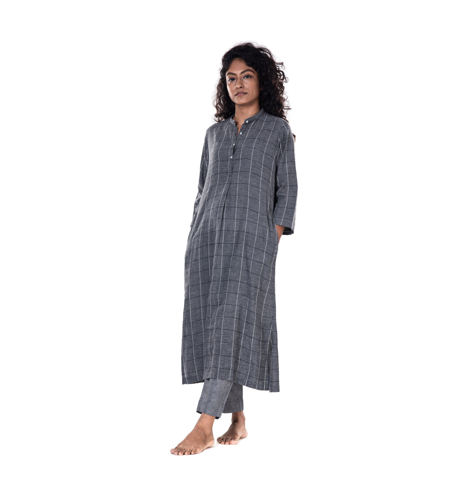 Khadi Checks Tunic