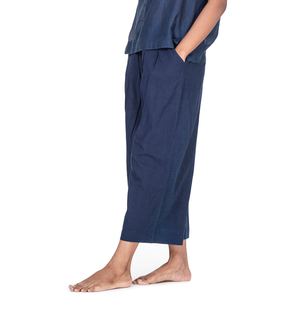 Unblock Pleated Pants