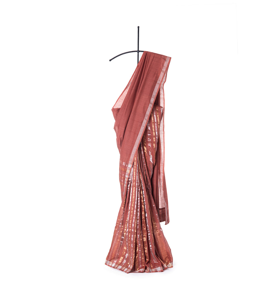 Zari Stripe Saree