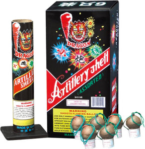 W515B ARTILLERY SHELL ASSORTED