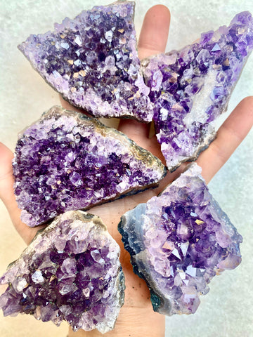 High Grade Small Amethyst Clusters