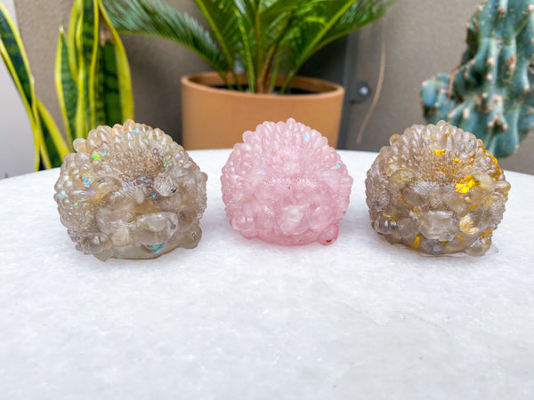 Resin Porcupine Carvings