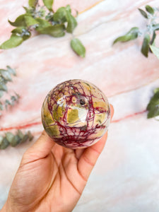 Garden Quartz/Lodolite Mini Spheres