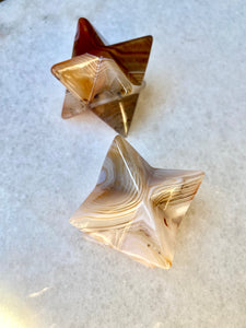 Sardonyx Merkabah Carvings