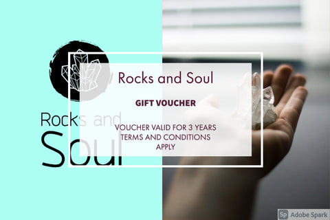 Rocks and Soul Gift Card