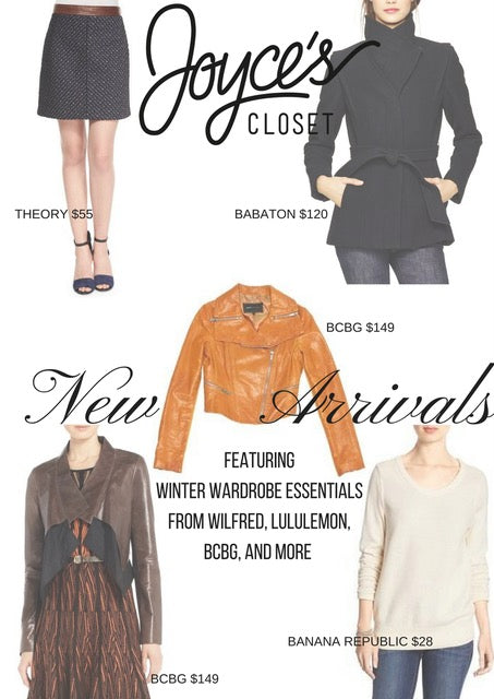 New Season, New Arrivals At Joyce's Closet