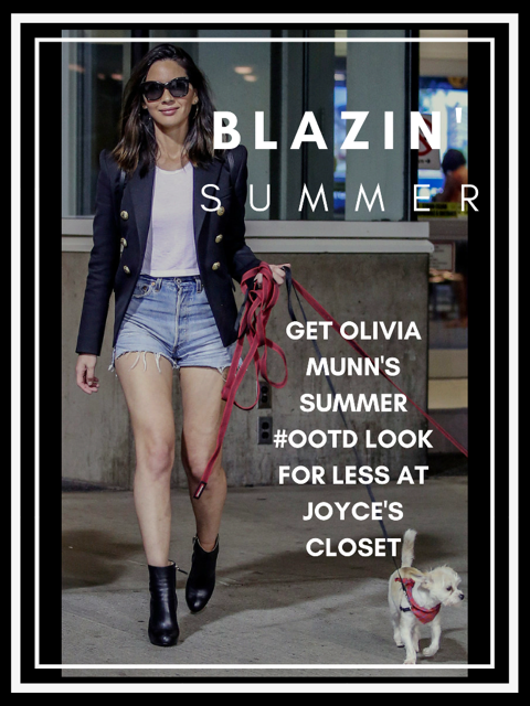 CELEBRITY LOOK FOR LESS FEATURING OLIVIA MUNN
