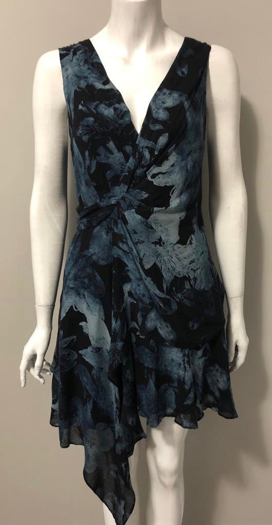 Rachel Roy Blue Floral Dress Size 6