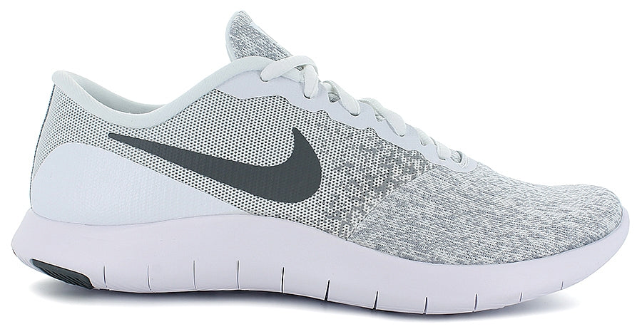 6f5d020ce1d Nike Flex Contact White   Grey Runners Sneakers Size 5.5 – Joyce s ...