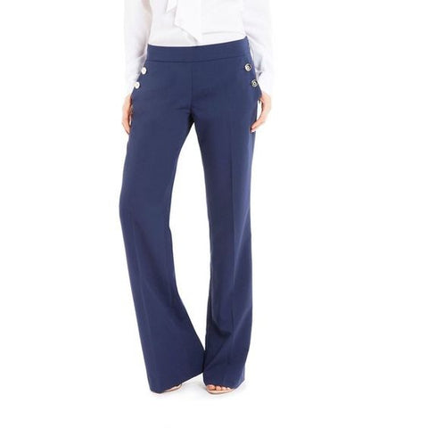 Guess by Marciano Navy Blue Sailor Pants Size 2