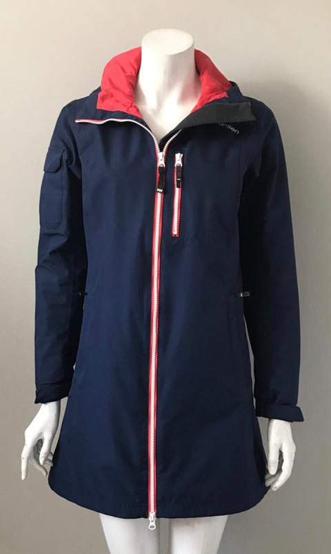 Helly Hansen Navy Waterproof Jacket Size S