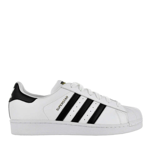 Adidas Superstar Black & White Sneakers Size 6