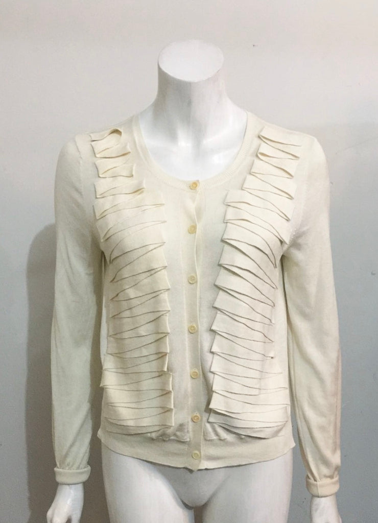 Brand New BCBG Max Azria Cream Cardigan Sweater Size S