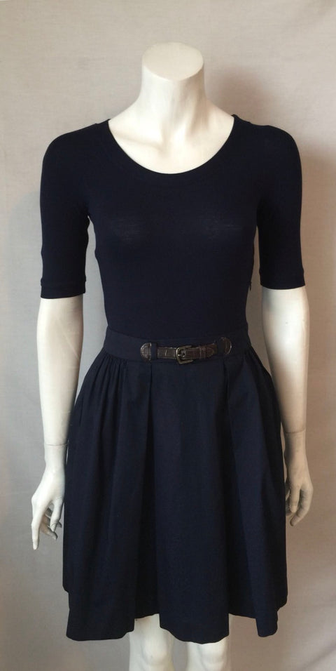 Lauren Ralph Lauren Navy Blue Dress Size S