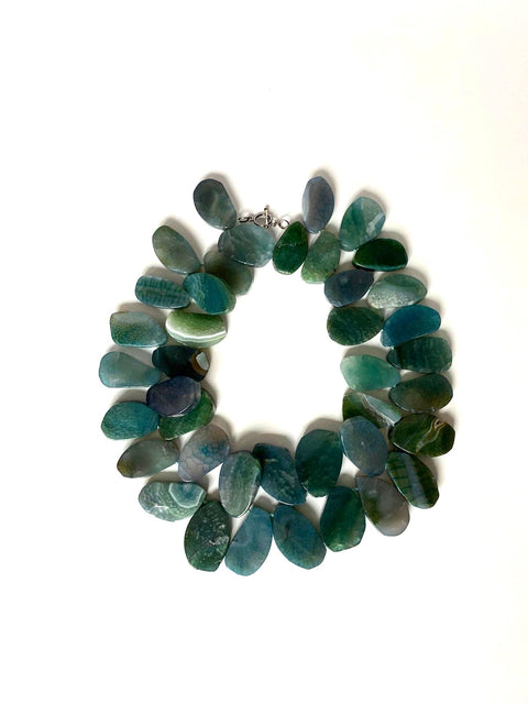 Green Aventurine Bib Necklace