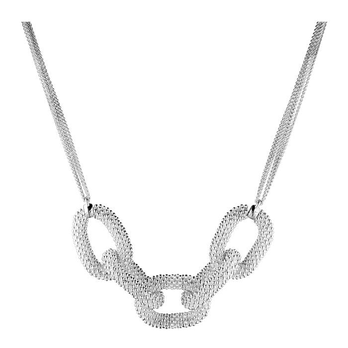 Brand New Links Of London Sterling Silver Effervescence Star Loop Necklace - Joyce's Closet  - 1