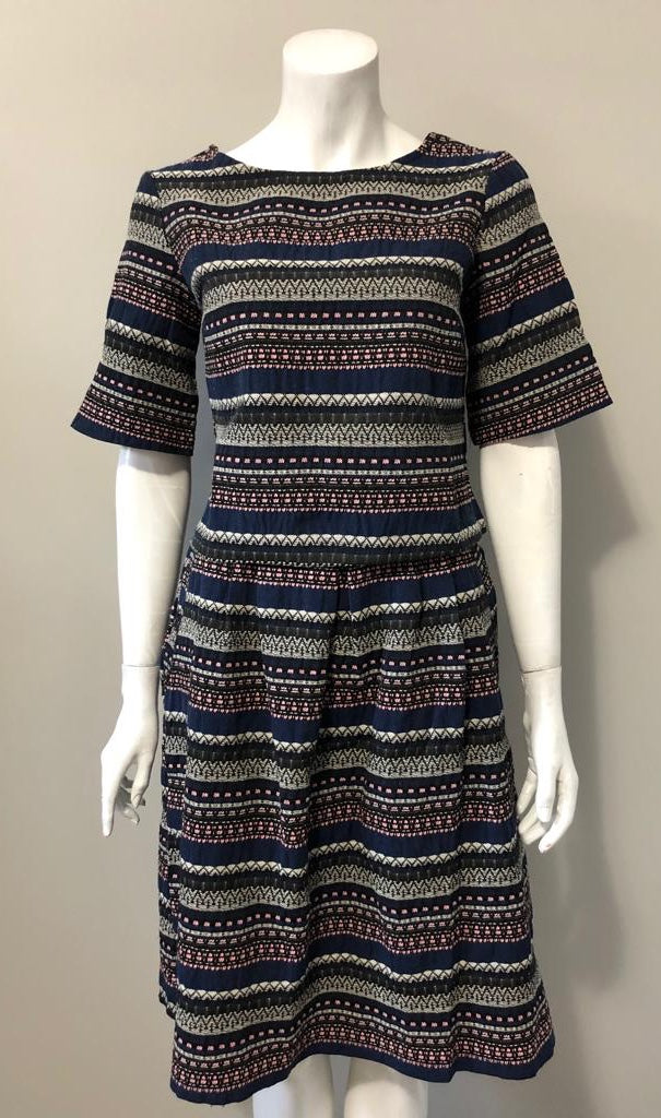 Brand New The Odells Multi-Color Print Matching Top & Skirt Set Size S