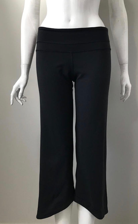 Lululemon Black Capri Pants Size 6