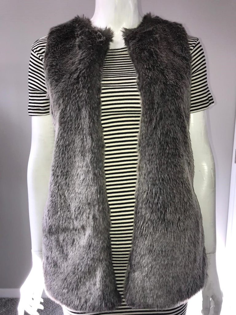 318d3909703f25 Talula Grey Romilly Open Vest Size XXS. Images   1   2   3 ...