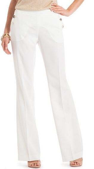 Guess by Marciano White Sailor Pants Size 2