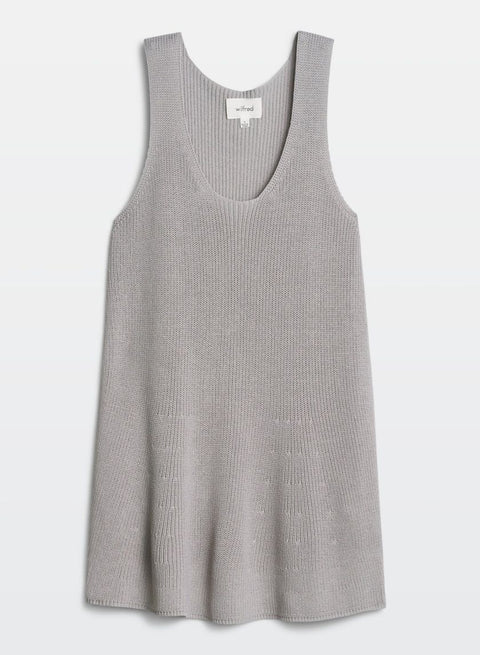 873a3ebefb18c0 Brand New Wilfred Pinson Grey Light Knit Top Size S