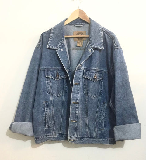 Vintage Arizona Oversized Denim Jacket Size XL