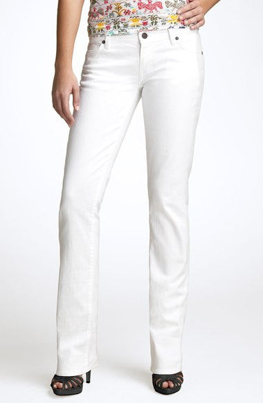 "Citizen of Humanity"" Ava"" White Jeans - Joyce's Closet  - 1"