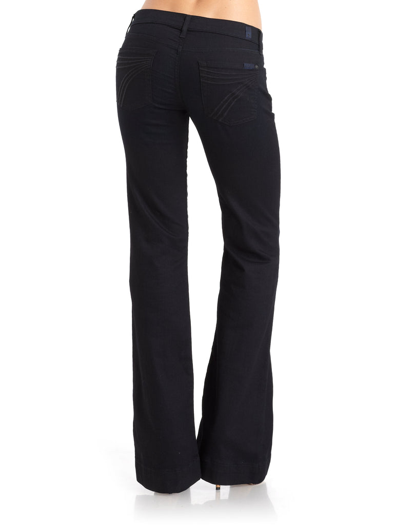 7 For All Mankind Black Dojo Jeans Size 26
