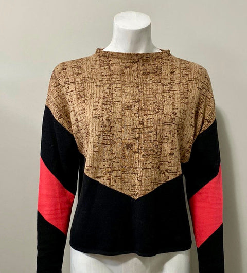Other Stories Multi-Color Block Sweater Size S
