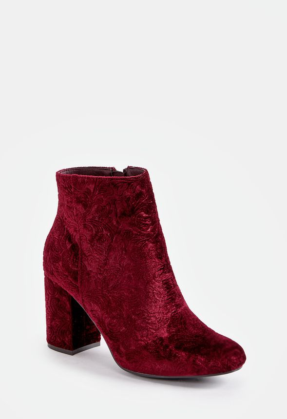 Brand New Just Fab Burgundy Loreida Red Boots Size 12