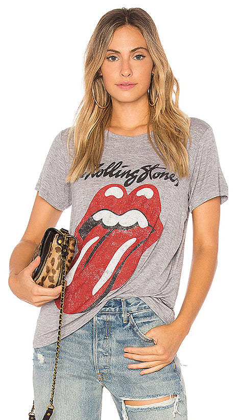 "Day Dream "" The Rolling Stones"" Heather Grey T Shirt Size M"