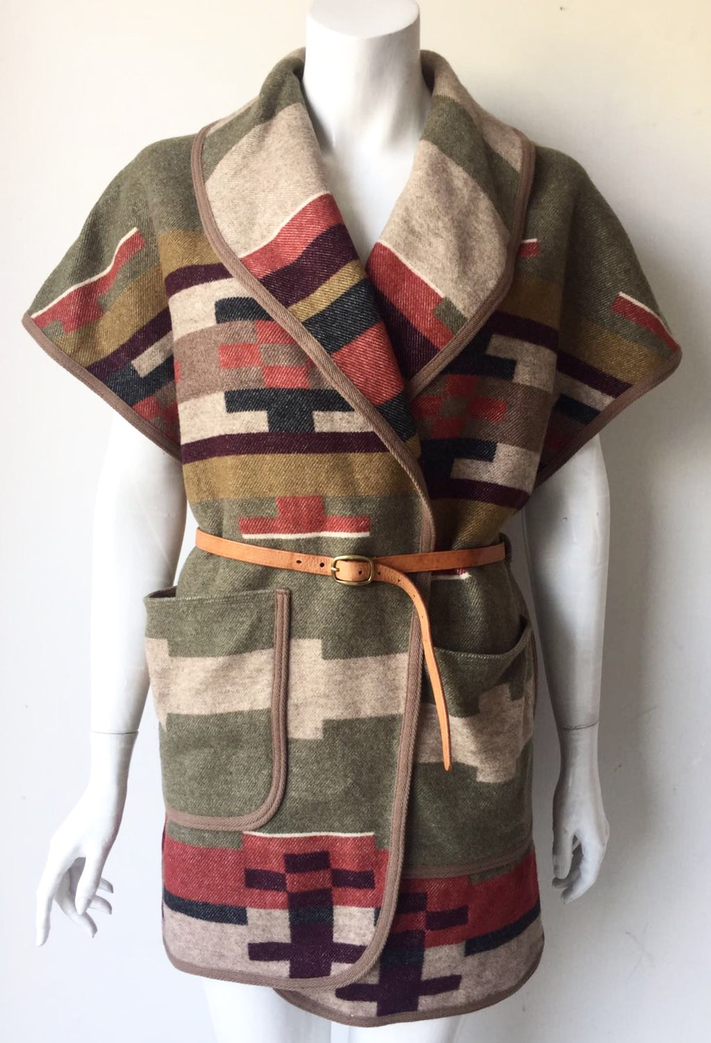 Wilfred Free Navajo Wrap Jacket Size M
