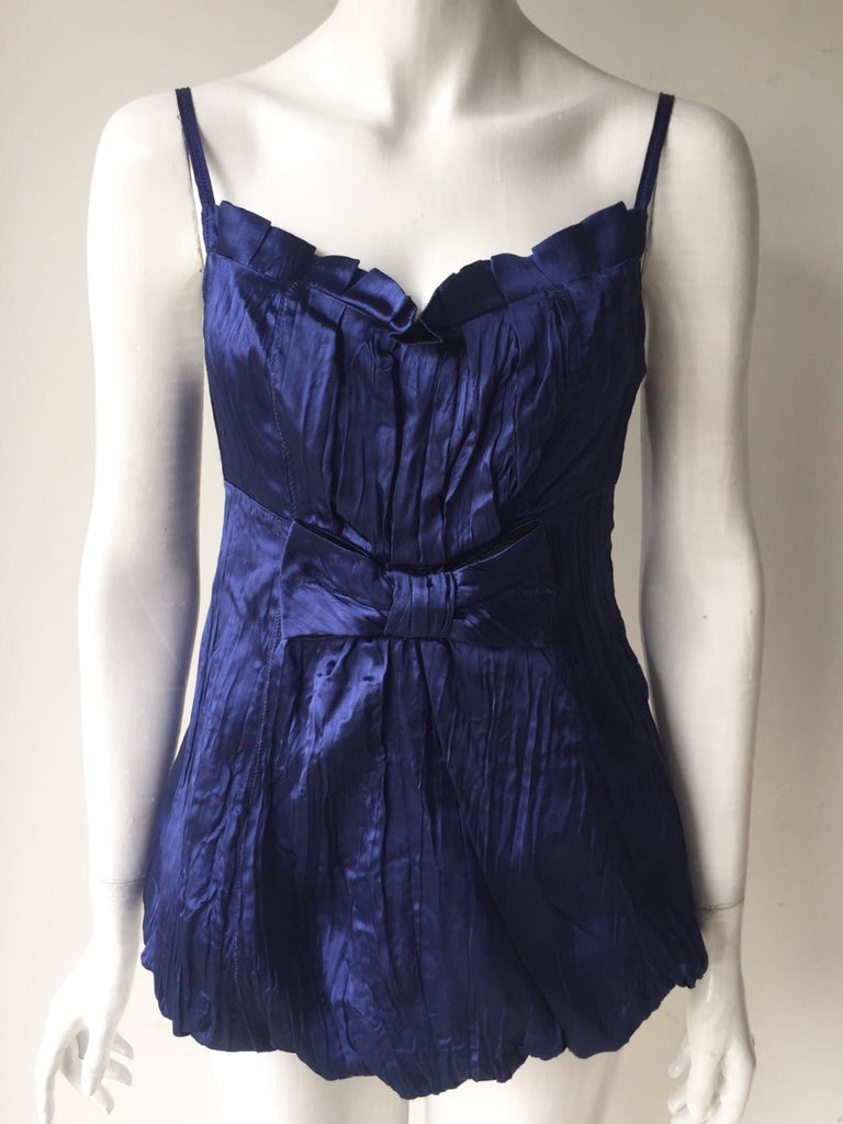 Marc by Marc Jacobs Blue Camisole Blouse Size 6