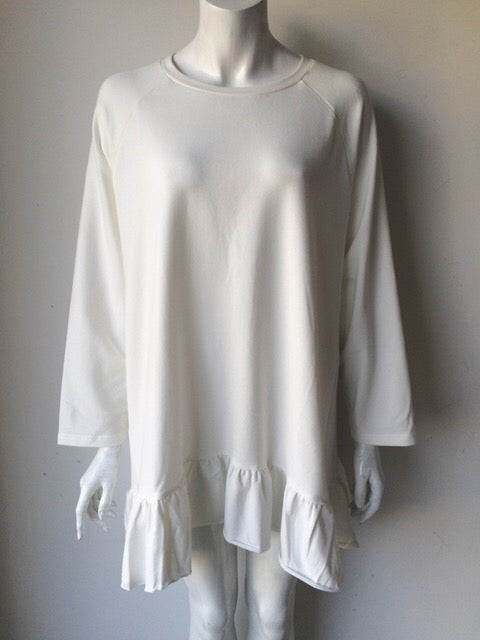 Love + Harmony White Drop Waist Dress Size L