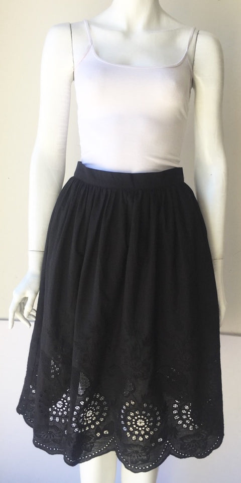 Brand New Re:named Black A line Skirt Size L