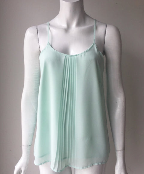 Vera Moda Mint Green Sleeveless Tank Top Size XS
