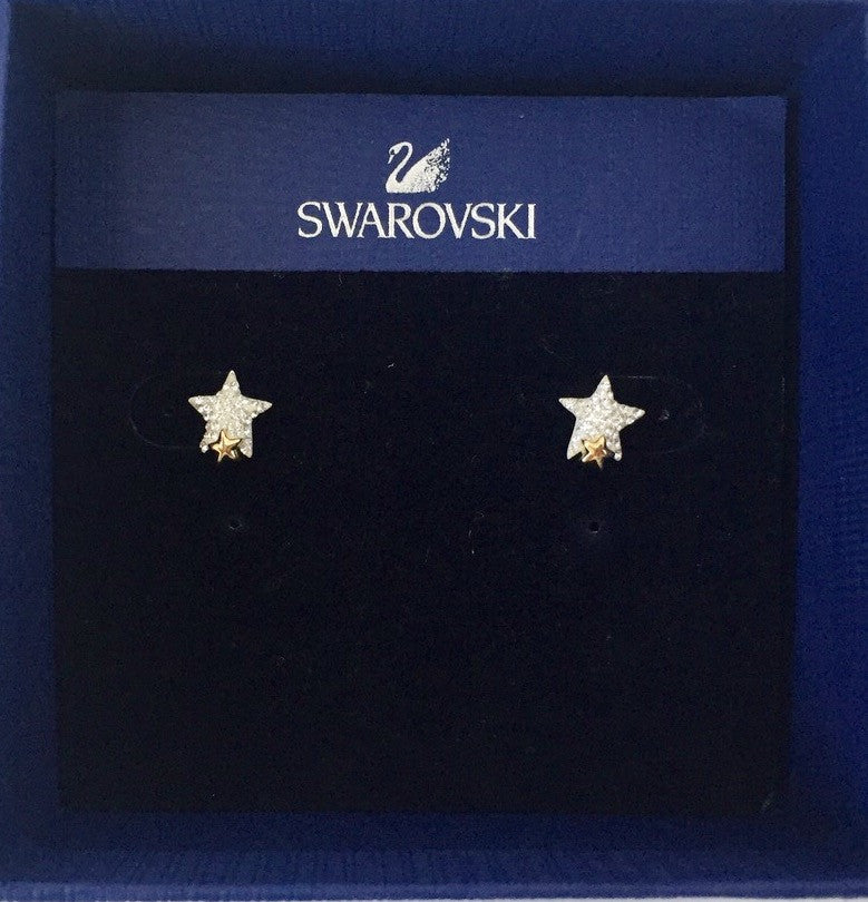 Brand New Swarovski Tough Pierced Earring 1181098