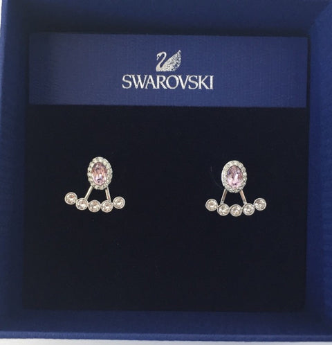 Brand New Swarovski Christie Pierced Oval Jacket Earring 5123884