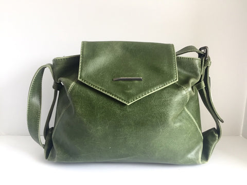 Matt & Nat Green Vegan Leather Bag