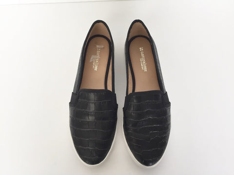 Neutralizer Black Leather Sneaker Flats Size 6