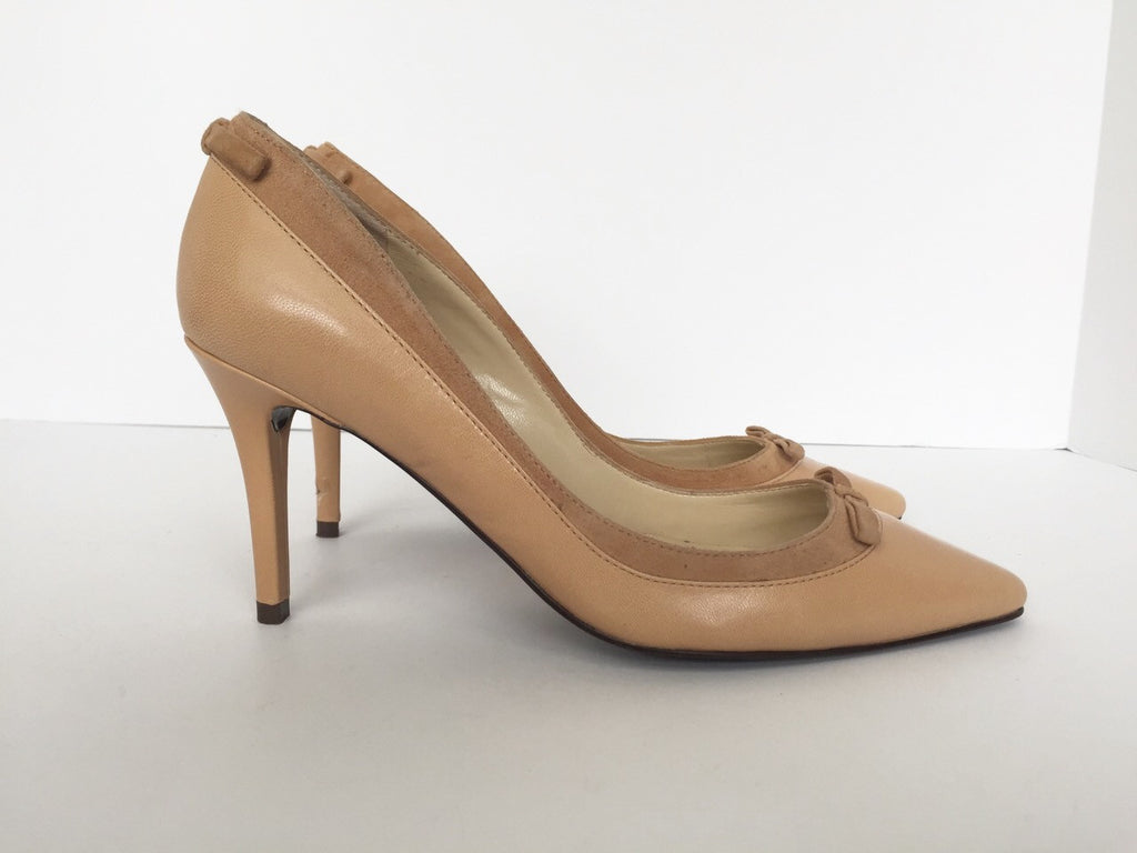 Ralph Lauren Nude Pointed Toe Pump Size 7