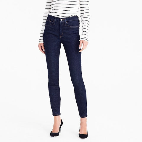 J. Crew ToothPick Style Dark Blue Jeans Size 28