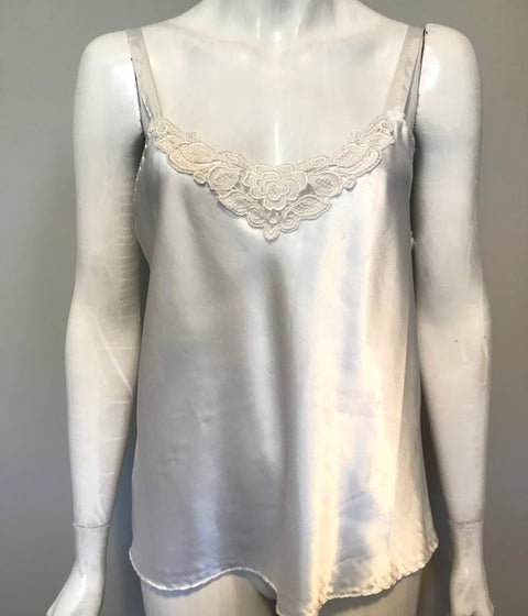 Chi by H.I.S Vintage Cream Camisole Tank Size M/L