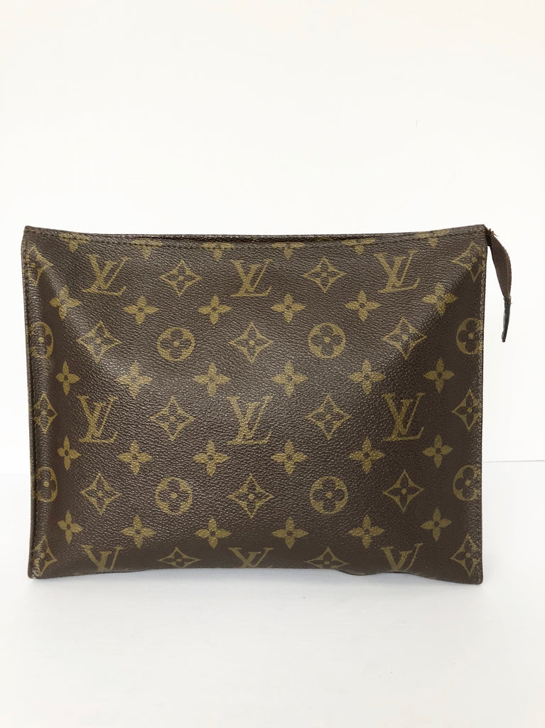 Vintage Louis Vuitton Monogram Canvas Toiletry 26 Pouch Bag